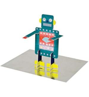 Happy Birthday Robot Card-16-0075H