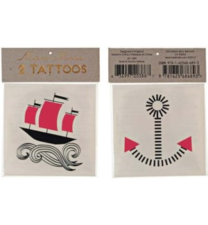 Boat And Anchor Tattoos-45-1380
