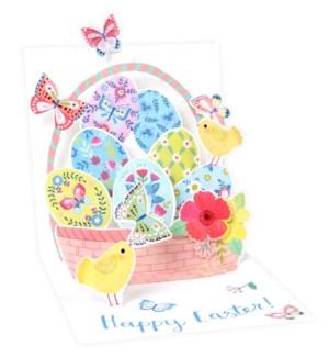 Easter Butterfly Basket