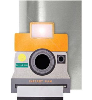 Camera Light Up Card-16-0100H