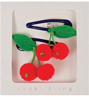Cherries Hair Clips-50-0021