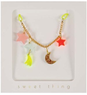 Stars & Moon Necklace-50-0022