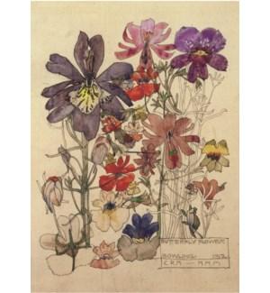 Butterfly Flower Mackintosh