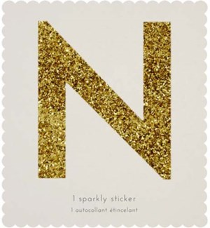 Chunky Gold Glitter N Sticker-61-0014