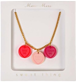 Love Hearts Necklace-50-0047
