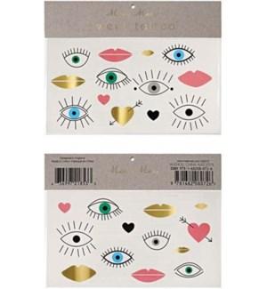 Eyes Lips Hearts Tattoos-45-2132