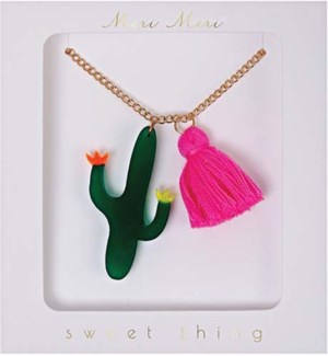Cactus Necklace-50-0066