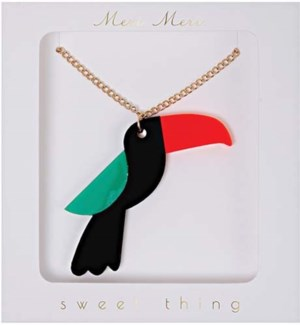 Toucan Necklace-50-0072