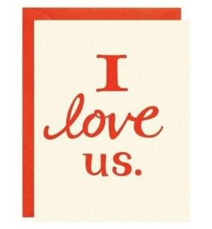 I Love Us Ltps A2 Single Card
