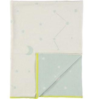 Blue Constellation Knitted Blanket-30-0019