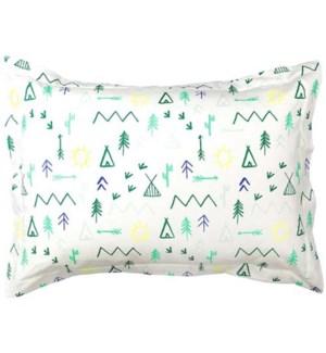 Camp Ground Pillow Sham-30-0033