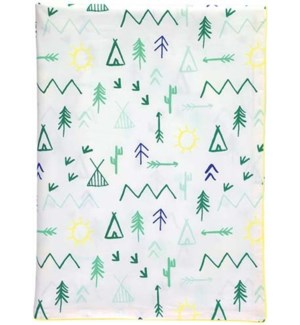 Camp Ground Twin Duvet Cover-30-0034