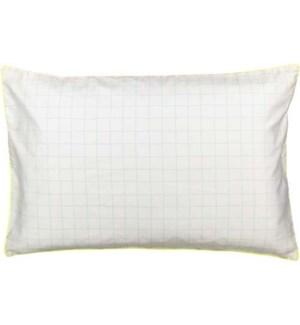 Mint Grid  Pillowcase-30-0035