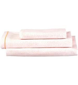 Pink Dotty Twin Sheet Set -30-0040