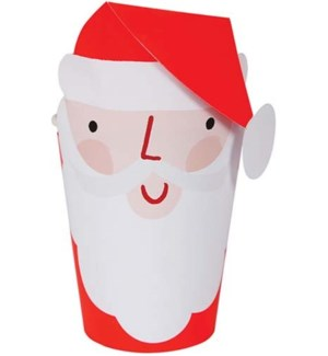 Santa Wrapped Cup-45-2964