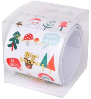 Christmas Icons Sticker Roll-45-2978