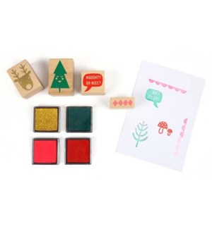 Jolly Rubber Stamp Set-45-3082