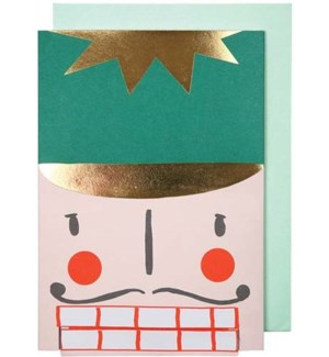 Nutcracker Greeting Card-42-0072