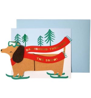 Dachshund Card-42-0073