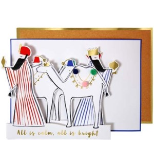 Wise Men Concertina Card-42-0075