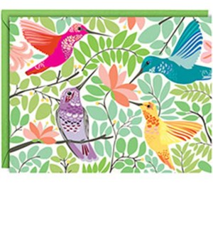 Hummingbirds A2 Note (10Pk)