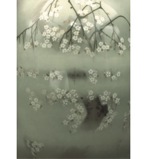 Cherry Blossoms In The Mist