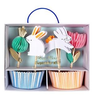 Honeycomb Bunny Cupcake Kit-45-3108