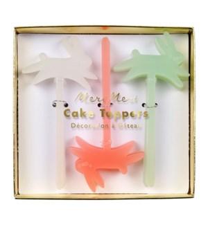 Acrylic Bunny Cake Toppers-45-3123