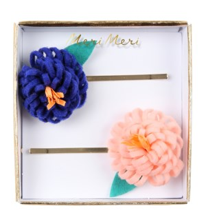 Flower Posy Hair Slides-50-0236