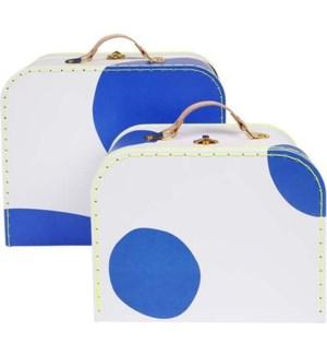 Blue Suitcase S/2-50-0264