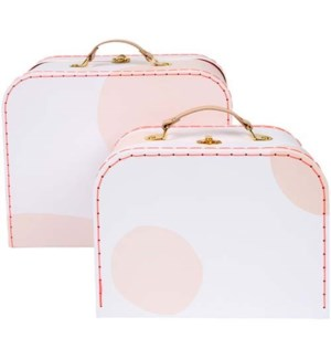 Pink Suitcase S/2-50-0265