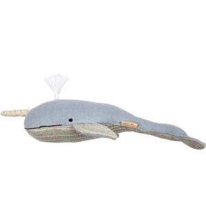 Small Knitted Narwhal-30-0155