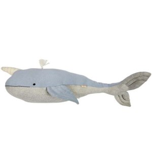 Large Knitted Narwhal-30-0156