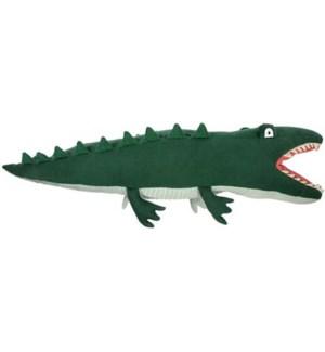 Large Knitted Crocodile-30-0162
