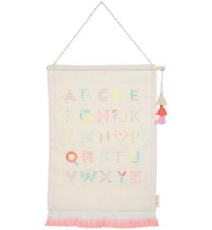 Girls Alphabet Wall Hanging-30-0232