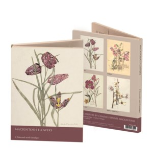 Mackintosh Flowers Wallet  173924