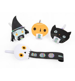 Halloween Character Party Blowers
