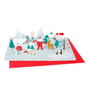Santa Scene Advent Calendar