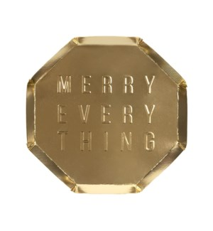 Small Merry Every Thing Plate