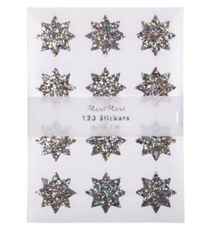 Glitter Star Stickers