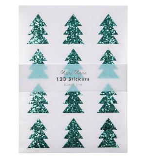 Glitter Tree Stickers