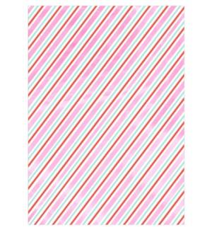 Iridescent Stripe Roll Wrap