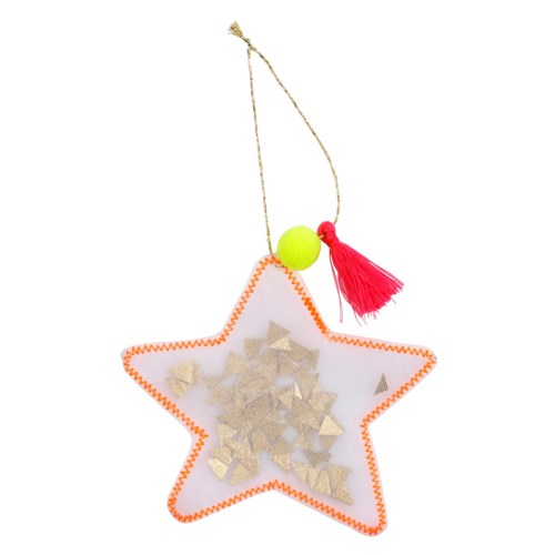 Star Organdie Ornament
