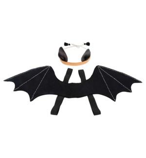 Halloween Bat Wings And Headdress