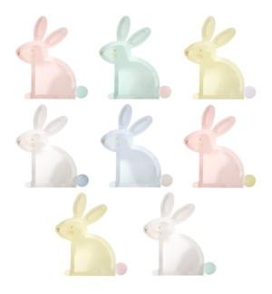 Pastel Bunny Plates-45-4300