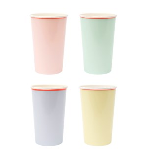 Large Pastel Highball Cups-45-4311