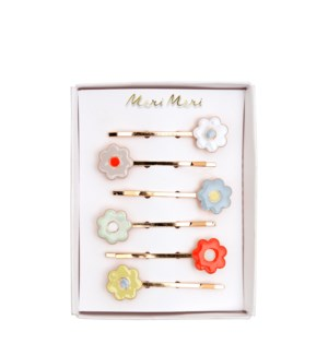 Daisy Enamel Hair Slides-45-4315