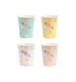 Wildflower Pastel Cups-45-4318