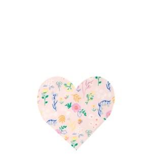 Wildflower Heart Napkin-45-4323