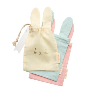 Pastel Bunny Gift Bags S/3-45-4327